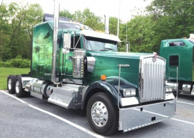 A gallery of our trucks at Wolf Pak Transport LLC