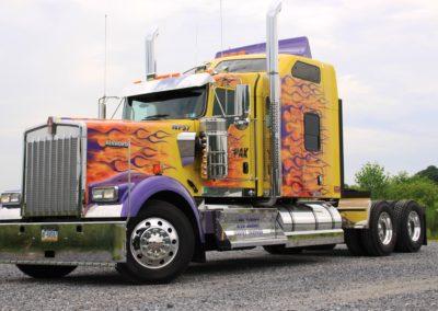 Wolfpak yellow truck 001